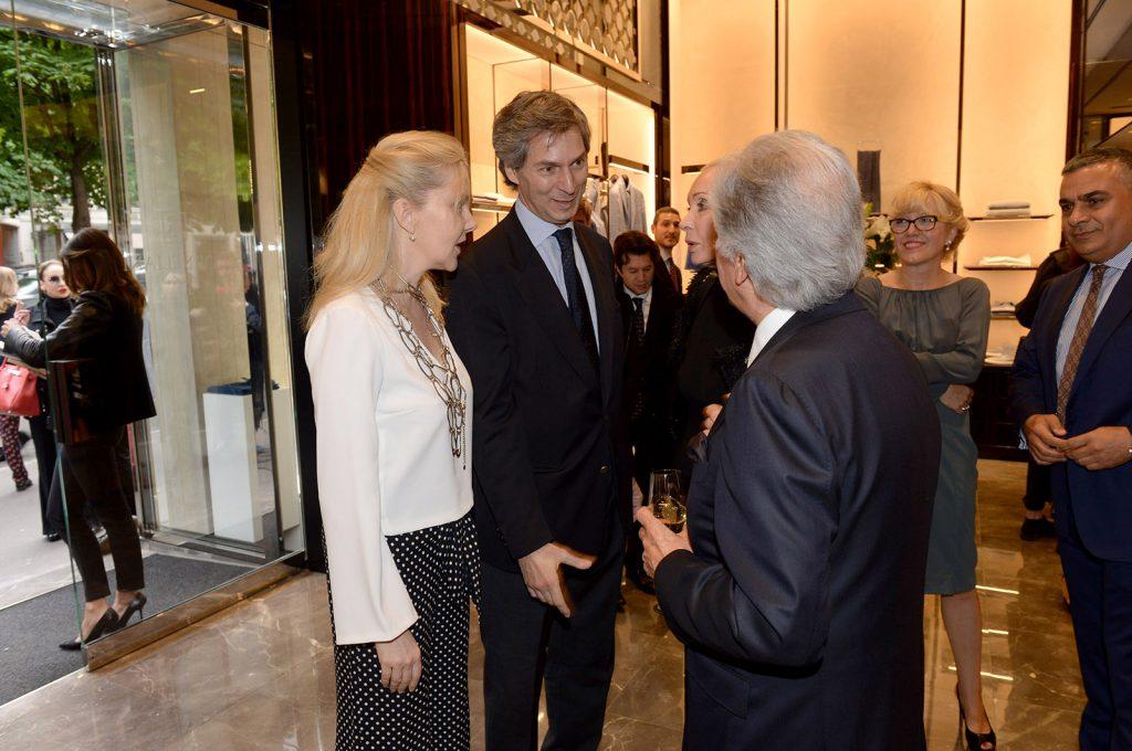 blackdress- Giandolenico Magliano italian ambassador in France