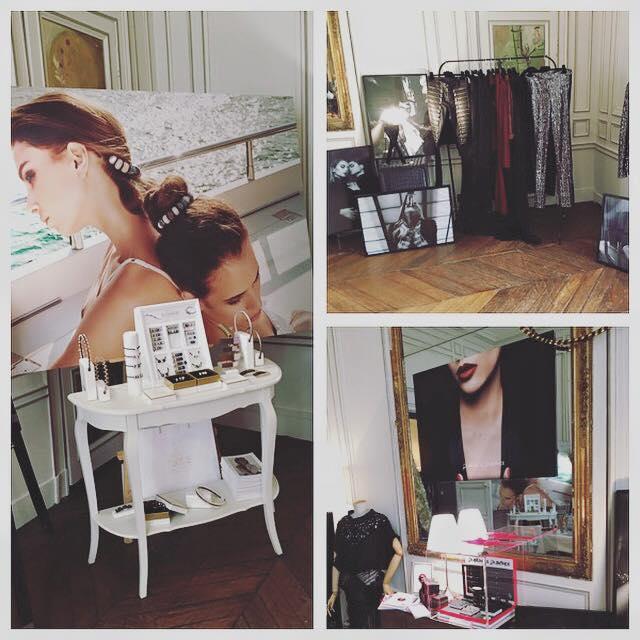 Marion Cortes - portes ouvertes de l'agence Blackdress en avril 2016